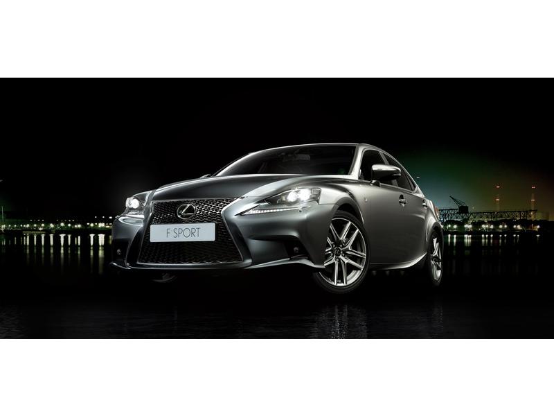 Новый Lexus IS F SPORT 2013